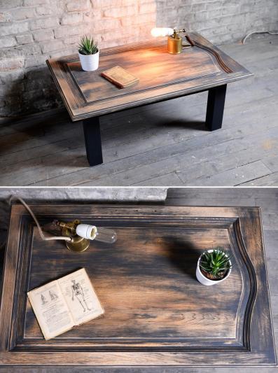 Table porte chêne